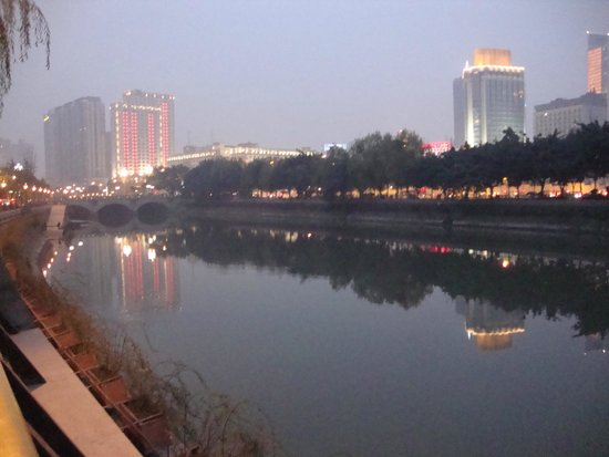 Sofitel Guangzhou Sunrich: Вечер. Январь четырнадцатого