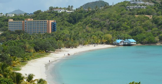 Grand Royal Antiguan Beach Resort: the beach