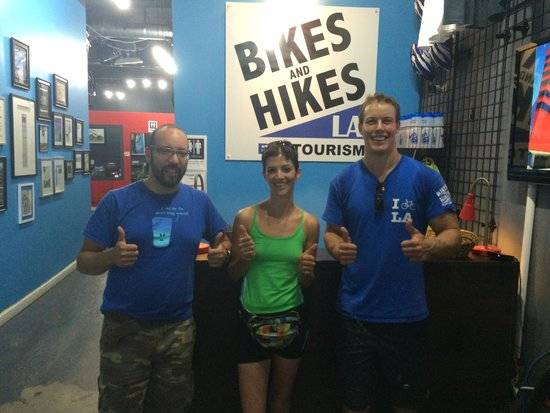 Bikes And Hikes LA: Post-tour victory lap