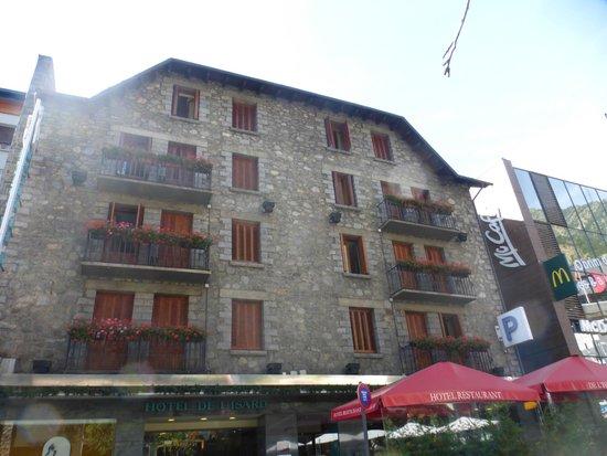 Hotel de l'Isard: La magnifique façade