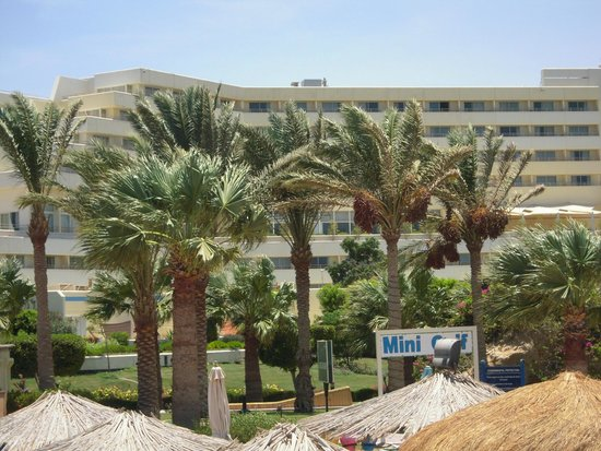 Hilton Hurghada Plaza: Blick auf das Hotel