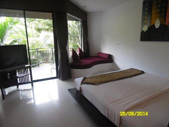 Nai Yang Beach Resort and Spa: номер на третьем этаже