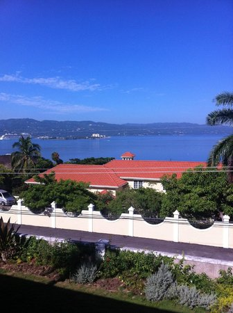 Polkerris Bed and Breakfast: Balcony View