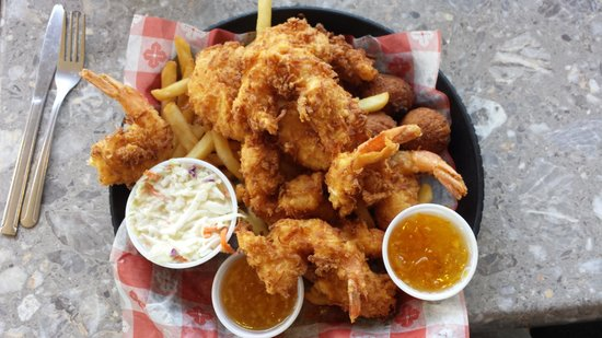 KaCey's Seafood and More : Coconut Fish Basket