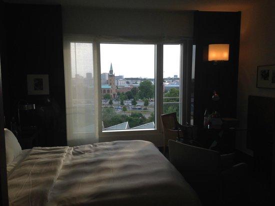 Grand Hyatt Berlin: View from the Room