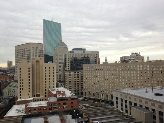 Revere Hotel Boston Common: View from our room last fall.  Love this place.
