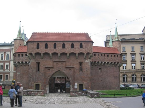 Cracovie : Одни из вором замка.