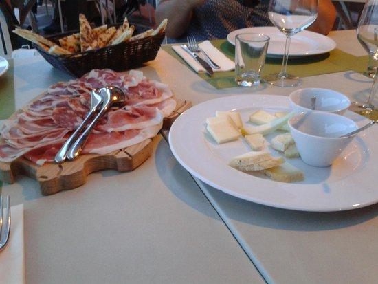 Ca' de Be Osteria Enoteca: affettati e formaggi