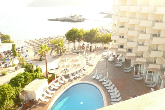 H10 Blue Mar Boutique Hotel: View from Roof Chill out Terrace