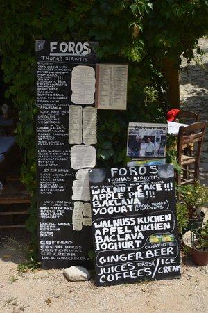 Foros Taverna