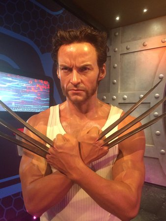 Madame Tussauds Hollywood : Hugh Hackman