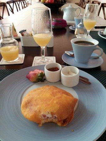 Hotel Quadrifolio : Desayunos