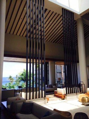 Andaz Maui At Wailea: arrival lobby