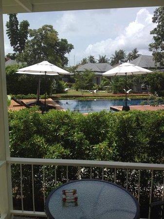 Perennial Resort: Blick von Veranda