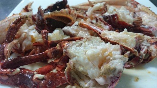 Restaurante Asador D'berto: Bogavante frito