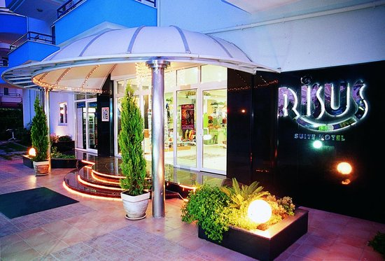 Risus Suit Hotel: Entrance