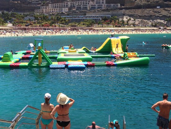Serenity Apartments: Inflatable Fun