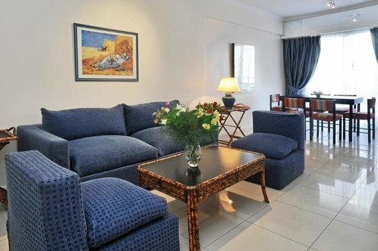 Mayla Apartments: Sector living departamento Suite