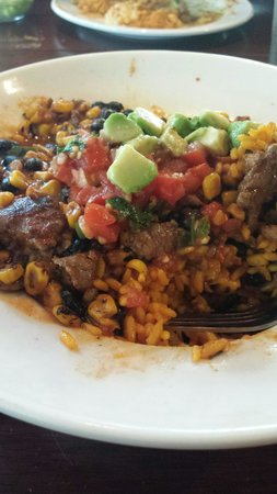 Bahama Breeze: Chipotle beef
