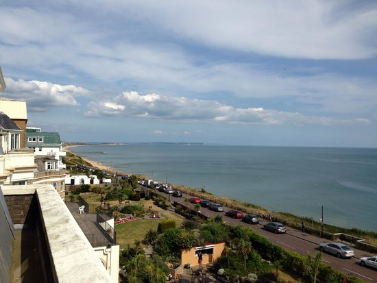 Hallmark Hotel Bournemouth Carlton: Sea view from room 319