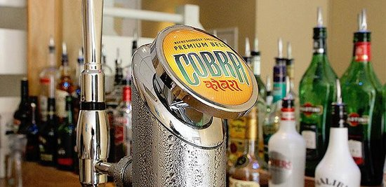 """The Lancer: Indian Cobra Beer on Draft """"Refreshingly Ice Cold"""""""