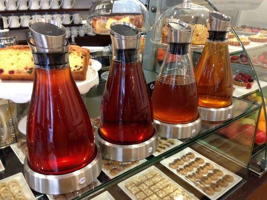 VIVEL Patisserie : Nos thés froids - Our Iced Teas