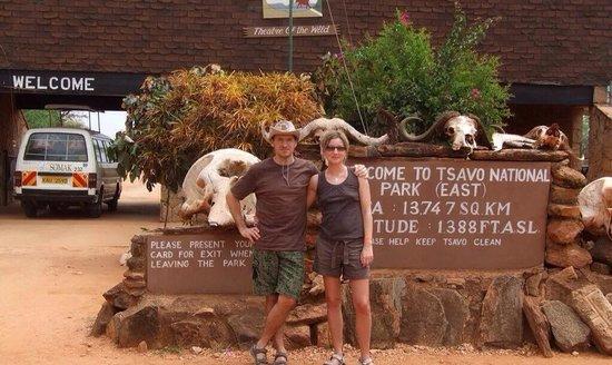 Tsavo East: At the gate
