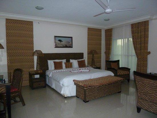 Al Nahda Resort & Spa : Vue de la chambre