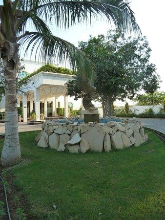 Al Nahda Resort & Spa : Réception