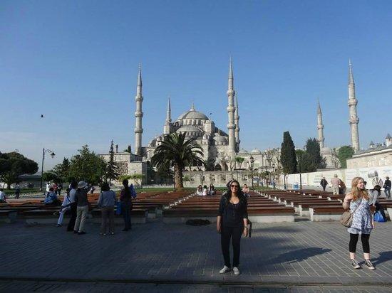 Mosquée Bleue (Sultan Ahmet Camii) : Mesquita Azul (Blue Mosque)