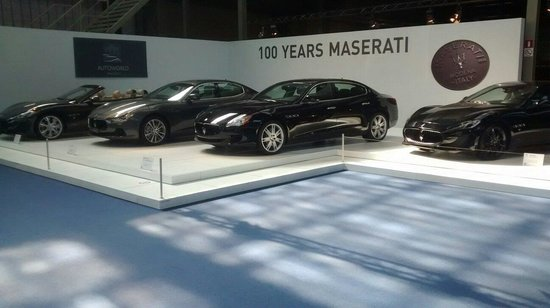 Autoworld : 100 ans Maserati
