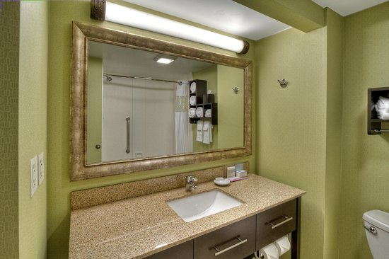 Hampton Inn Greensburg: Standard Bathroom