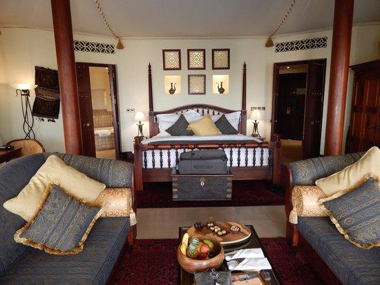 Al Maha, A Luxury Collection Desert Resort & Spa: The 'standard' bedouin suite