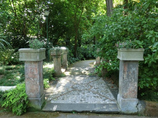 Hotel La Residenza: Заповедные места парка