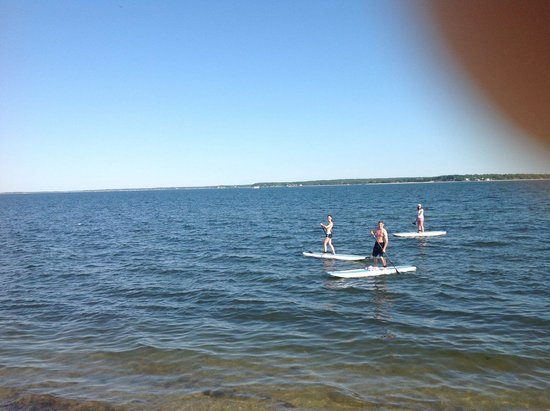 Jamesport Bay Suites: adventure paddlboarding daily delivery/fun in the sun