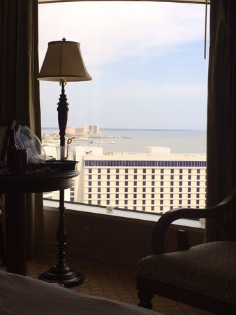 Beau Rivage Resort & Casino Biloxi: Room with view of island