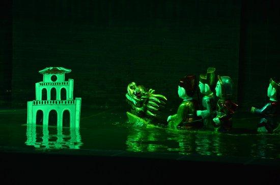 Vietnam National Tuong Theatre: Les marionnettes