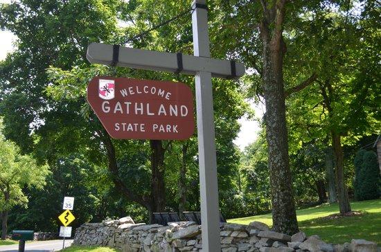 Gathland State Park: entrance