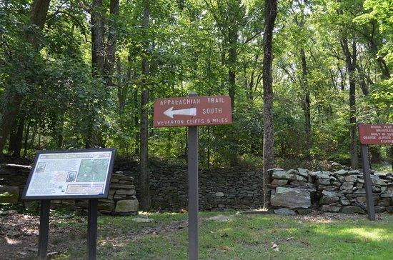 Gathland State Park: start hike