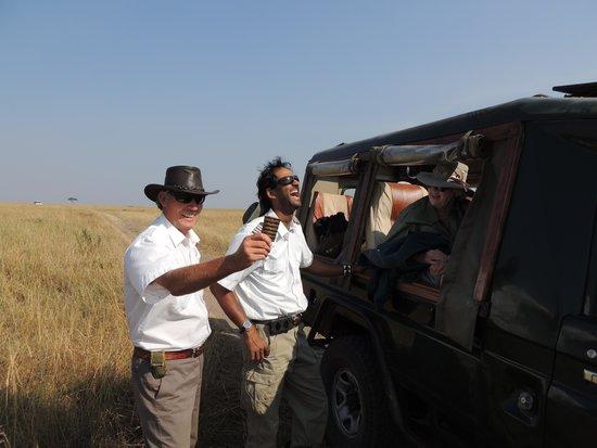 Hot Air Safaris: Capt. Andrew & Capt. Riz