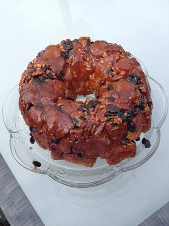 Acres on the Lake Bed and Breakfast: Donna's Monkey bread.  Enjoy!
