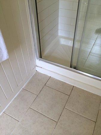Smart and Simple Hotel: Shower door
