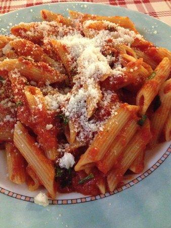 Chicco di Grano: Spicy arrabiata pasta