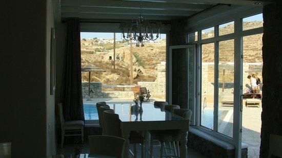 Paradise View Hotel: Breakfast room