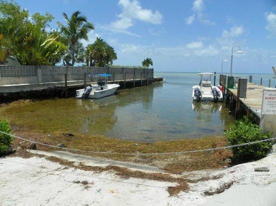 Seascape Motel and Marina: Boat ramp