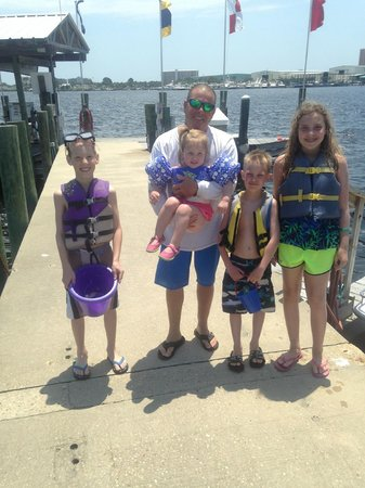 Aquatic Adventures: Kids enjoyed the adventure with Captain Loopy.