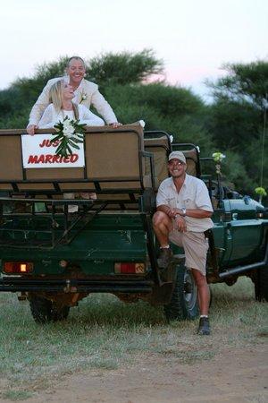 Sanctuary Makanyane Safari Lodge: wedding photo
