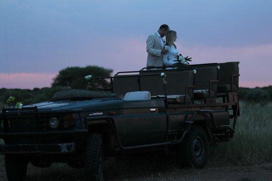 Sanctuary Makanyane Safari Lodge: wedding photos