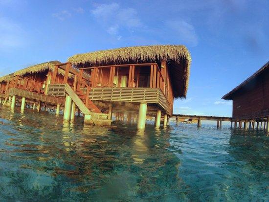 Medhufushi Island Resort: Overwater bungalow