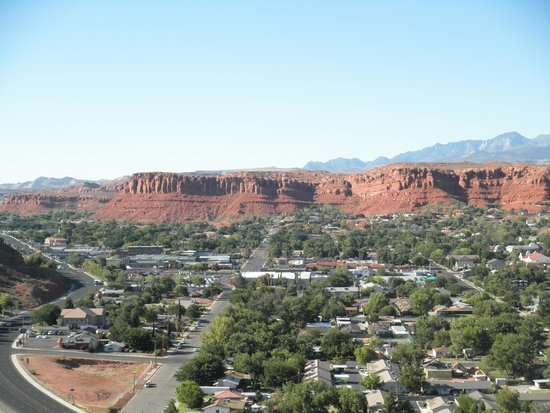 Inn on the Cliff : View from Room - St. George, Utah